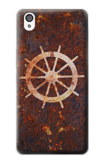 Printed Ship Wheel Rusty Texture OnePlus X Case