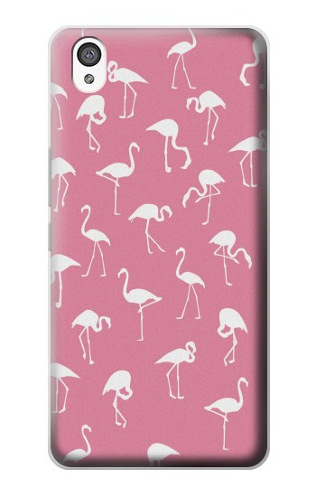 Printed Pink Flamingo Pattern OnePlus X Case