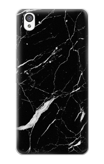 Printed Black Marble Graphic Printed OnePlus X Case