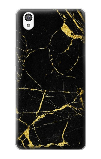 Printed Gold Marble Graphic Printed OnePlus X Case