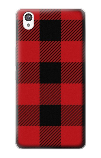 Printed Red Buffalo Check Pattern OnePlus X Case