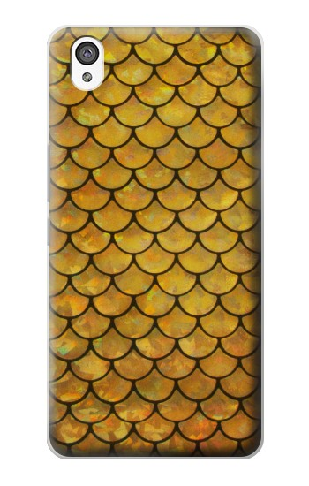 Printed Gold Fish Scale OnePlus X Case
