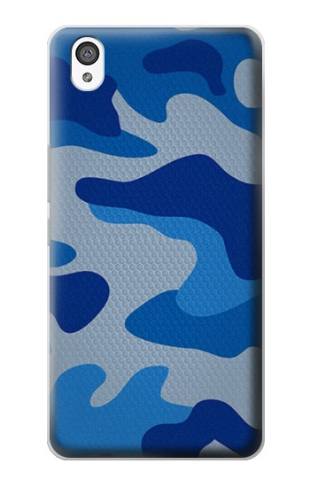 Printed Army Blue Camouflage OnePlus X Case