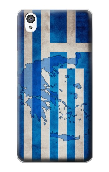 Printed Greece Map Flag OnePlus X Case