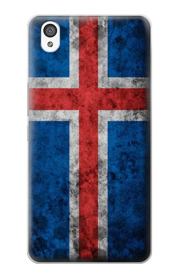 Printed Iceland Football Flag OnePlus X Case