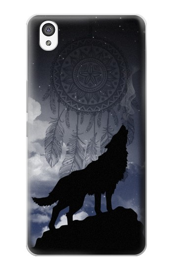 Printed Dream Catcher Wolf Howling OnePlus X Case