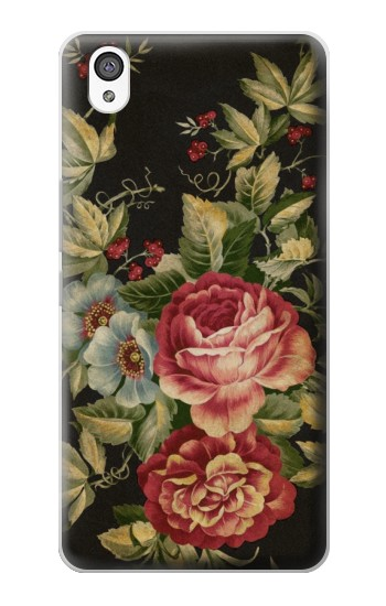 Printed Vintage Antique Roses OnePlus X Case