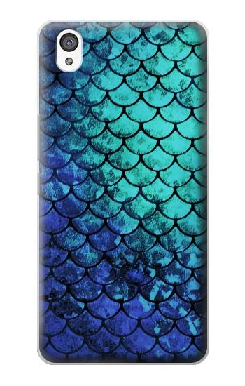 Printed Green Mermaid Fish Scale OnePlus X Case