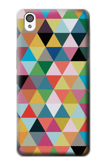 Printed Triangles Vibrant Colors OnePlus X Case