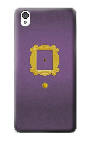 Printed Friends Purple Door Minimalist OnePlus X Case
