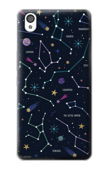 Printed Star Map Zodiac Constellations OnePlus X Case