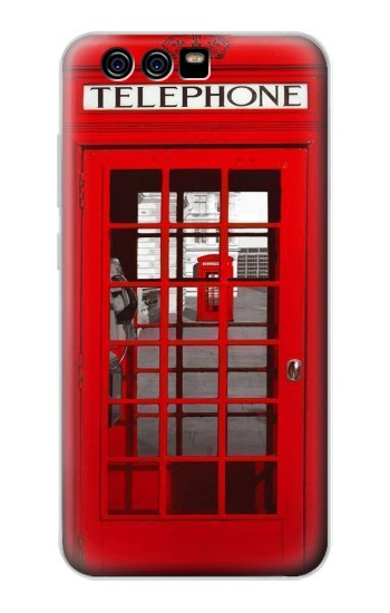 Printed Classic British Red Telephone Box alcatel Idol 2 Mini Case