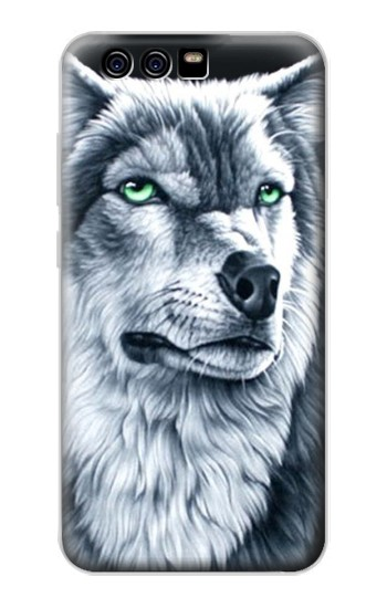 Printed Grim White Wolf alcatel Idol 2 Mini Case