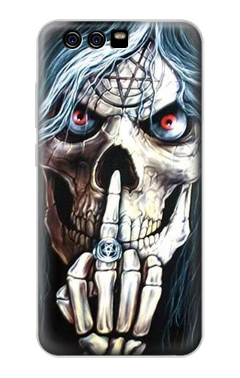 Printed Skull Pentagram alcatel Idol 2 Mini Case