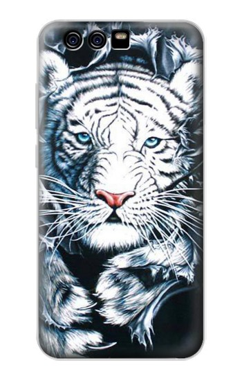 Printed White Tiger alcatel Idol 2 Mini Case