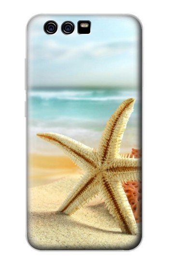 Printed Starfish on the Beach alcatel Idol 2 Mini Case