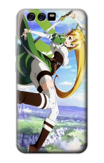 Printed Sword Art Online Kirigaya Suguha Leafa alcatel Idol 2 Mini Case