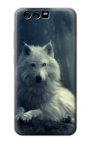Printed White Wolf alcatel Idol 2 Mini Case