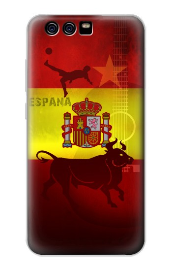 Printed Spain Football Flag alcatel Idol 2 Mini Case