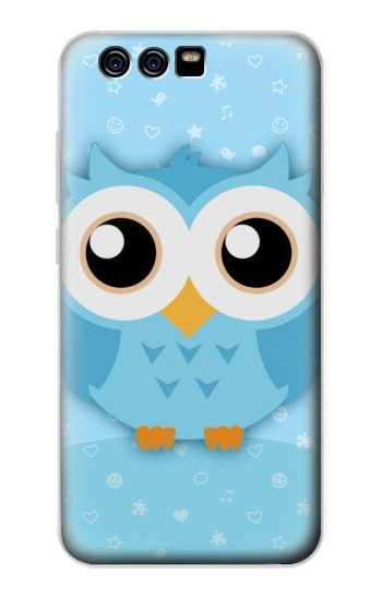 Printed Cute Blue Owl alcatel Idol 2 Mini Case