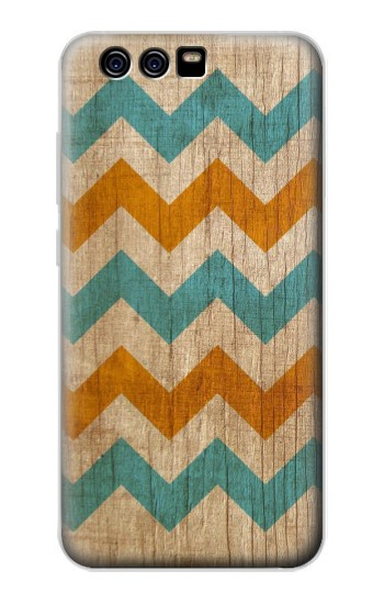 Printed Vintage Wood Chevron alcatel Idol 2 Mini Case
