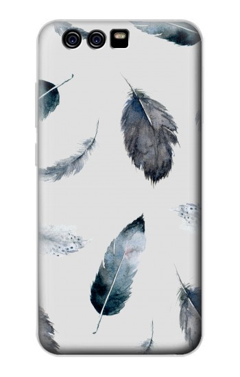 Printed Feather Paint Pattern alcatel Idol 2 Mini Case