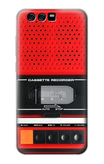 Printed Red Cassette Recorder Graphic alcatel Idol 2 Mini Case