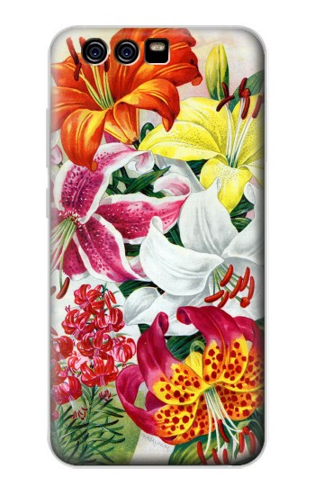 Printed Retro Art Flowers alcatel Idol 2 Mini Case
