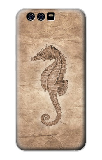 Printed Seahorse Old Paper alcatel Idol 2 Mini Case