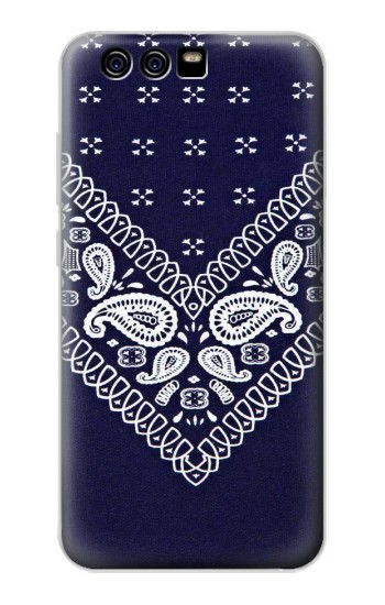 Printed Navy Blue Bandana Pattern alcatel Idol 2 Mini Case