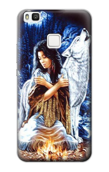 Printed Grim Wolf Indian Girl alcatel Idol 2 S Case
