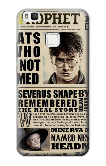 Printed Harry Potter Daily Prophet alcatel Idol 2 S Case