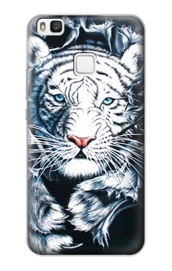 Printed White Tiger alcatel Idol 2 S Case