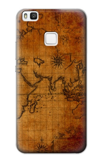 Printed Old Map alcatel Idol 2 S Case