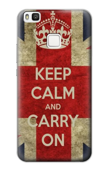 Printed Keep Calm and Carry On alcatel Idol 2 S Case