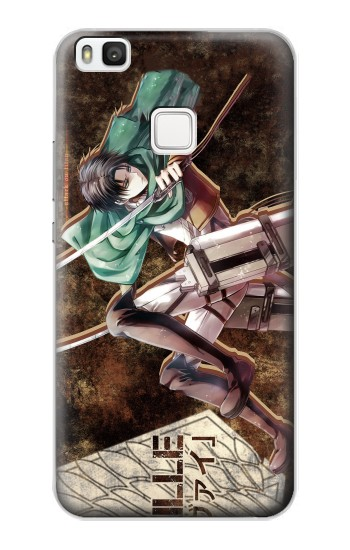 Printed Attack on Titan Rivaille alcatel Idol 2 S Case