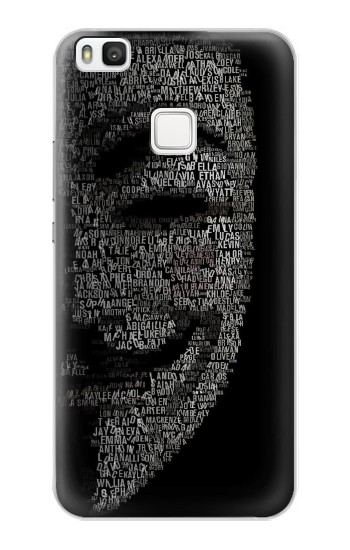 Printed V Mask Guy Fawkes Anonymous alcatel Idol 2 S Case