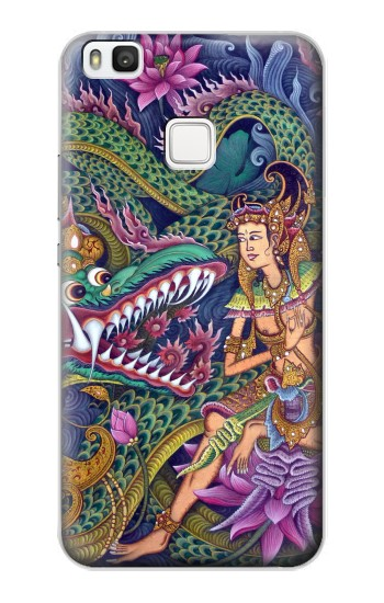 Printed Bali Painting alcatel Idol 2 S Case