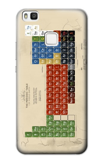 Printed The Periodic Table of Middle Earth The Lord of The Rings alcatel Idol 2 S Case