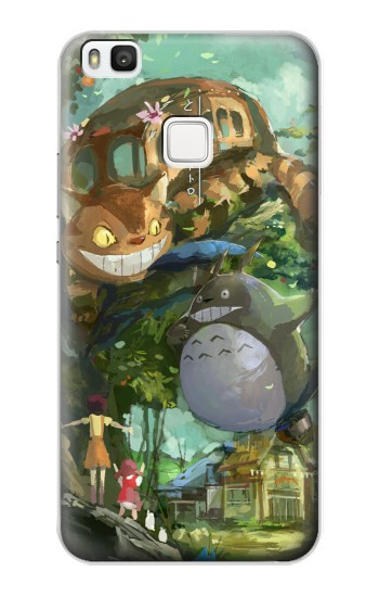 Printed My Neighbor Totoro Cat Bus alcatel Idol 2 S Case