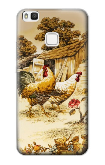 Printed French Country Chicken alcatel Idol 2 S Case