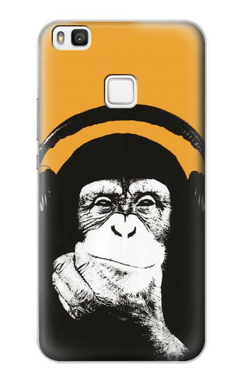 Printed Funny Monkey with Headphone Pop Music alcatel Idol 2 S Case