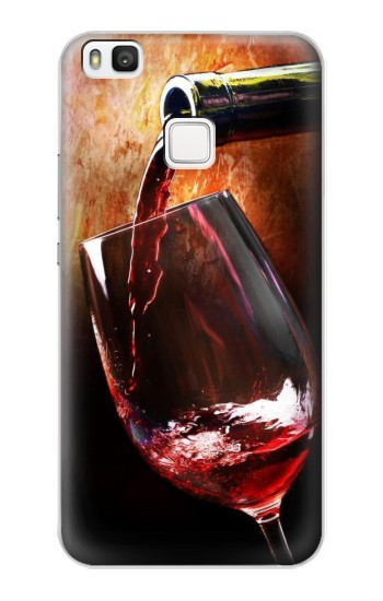 Printed Red Wine Bottle And Glass alcatel Idol 2 S Case