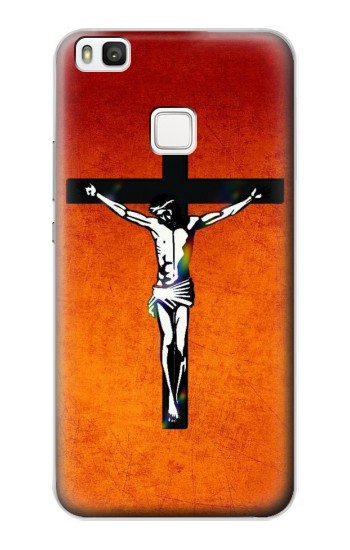 Printed Jesus Christ On The Cross alcatel Idol 2 S Case