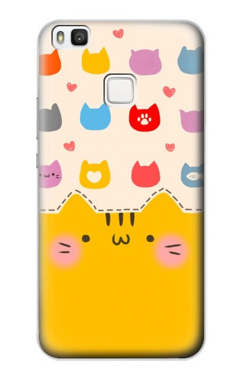 Printed Cute Cat Pattern alcatel Idol 2 S Case