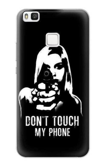 Printed Girl Do Not Touch My Phone alcatel Idol 2 S Case