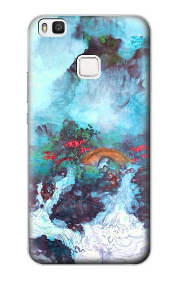 Printed White Dragon Pool Lui Haisu alcatel Idol 2 S Case
