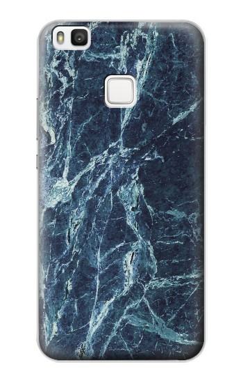 Printed Light Blue Marble Stone Texture Printed alcatel Idol 2 S Case