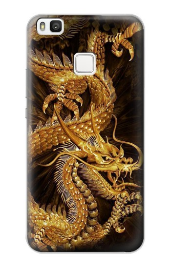 Printed Chinese Gold Dragon Printed alcatel Idol 2 S Case