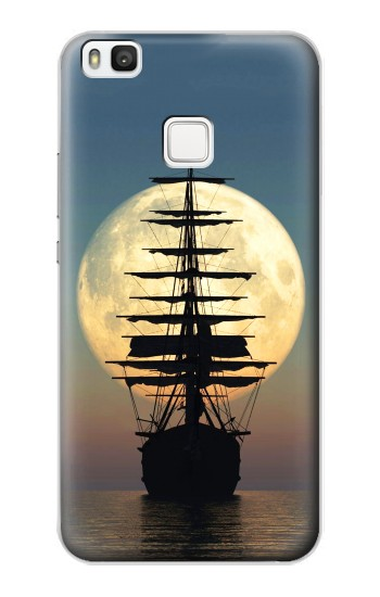 Printed Pirate Ship Moon Night alcatel Idol 2 S Case